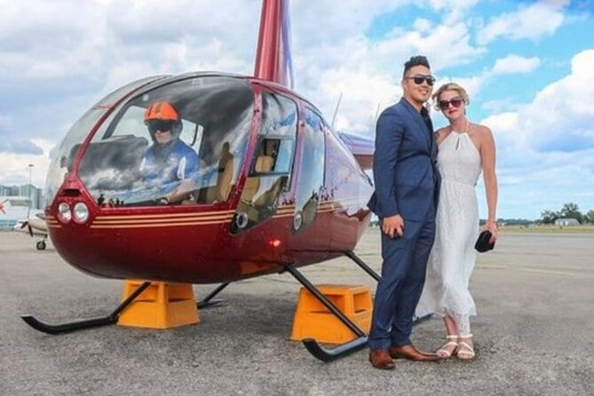 Romantic Jewel- Private Helicopter tour for 2