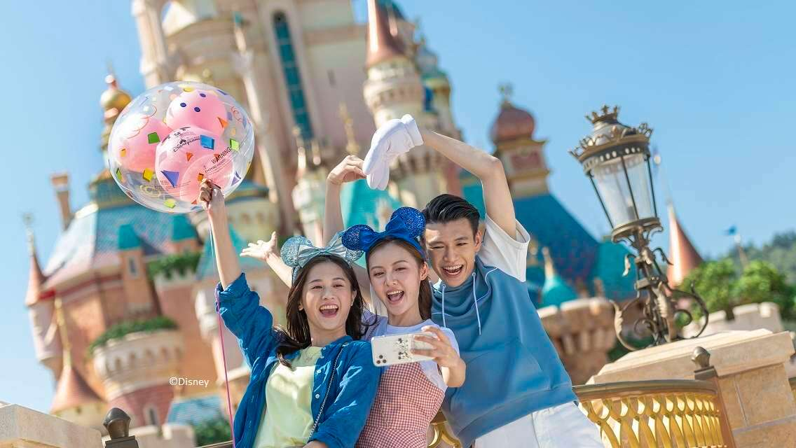 香港迪士尼樂園「奇妙同慶」團票優惠三人/四人同行套票(低至68折 須於到訪前7日內網上預約到訪日期)
