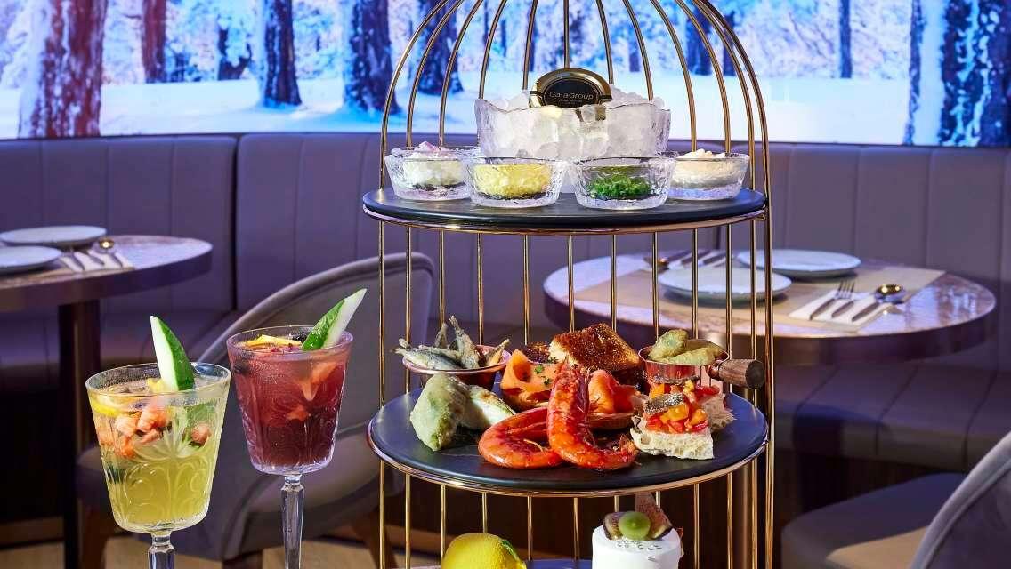 香港K11 MUSEA G Room 2人下午茶套餐送免費西班牙果酒