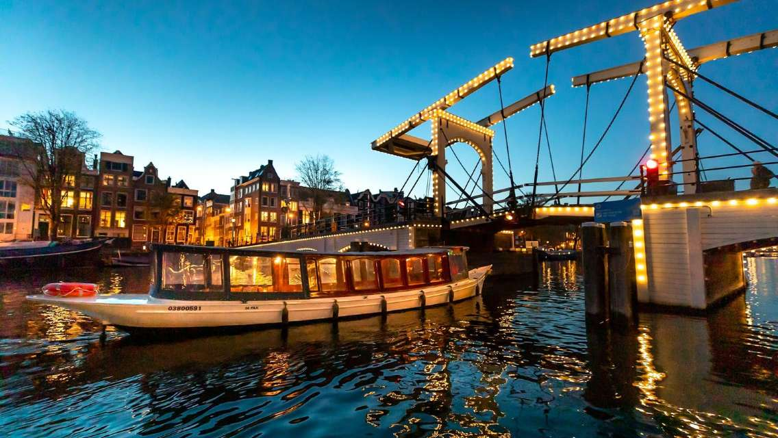 Amsterdam Evening Canal Cruise from Anne Frank House