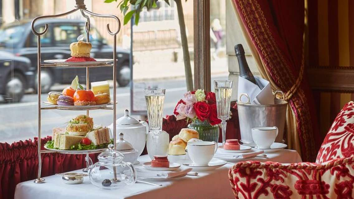 Afternoon Tea at The Rubens at the Palace with Optional Champagne upgrade