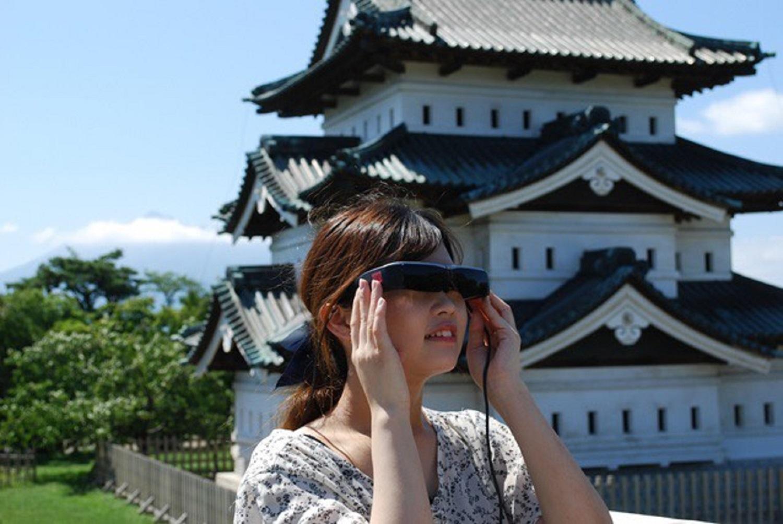 青森縣丨弘前公園 VR 導覽跨越時光感受不同風光(含午餐)