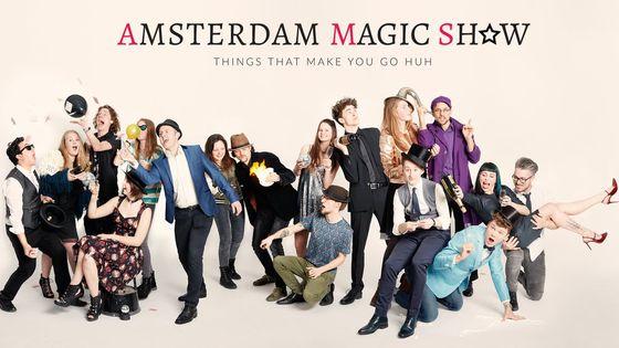 Amsterdam Magic Show ticket