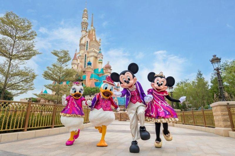 香港迪士尼樂園門票 / 餐券(須提前於線上預約入場日期)