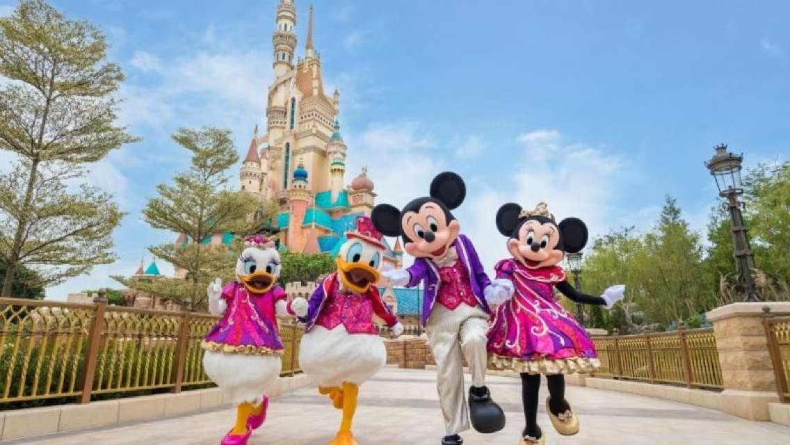 香港迪士尼樂園優惠門票 / 餐券(必須於到訪前7日內於迪士尼官網預約入園日期)