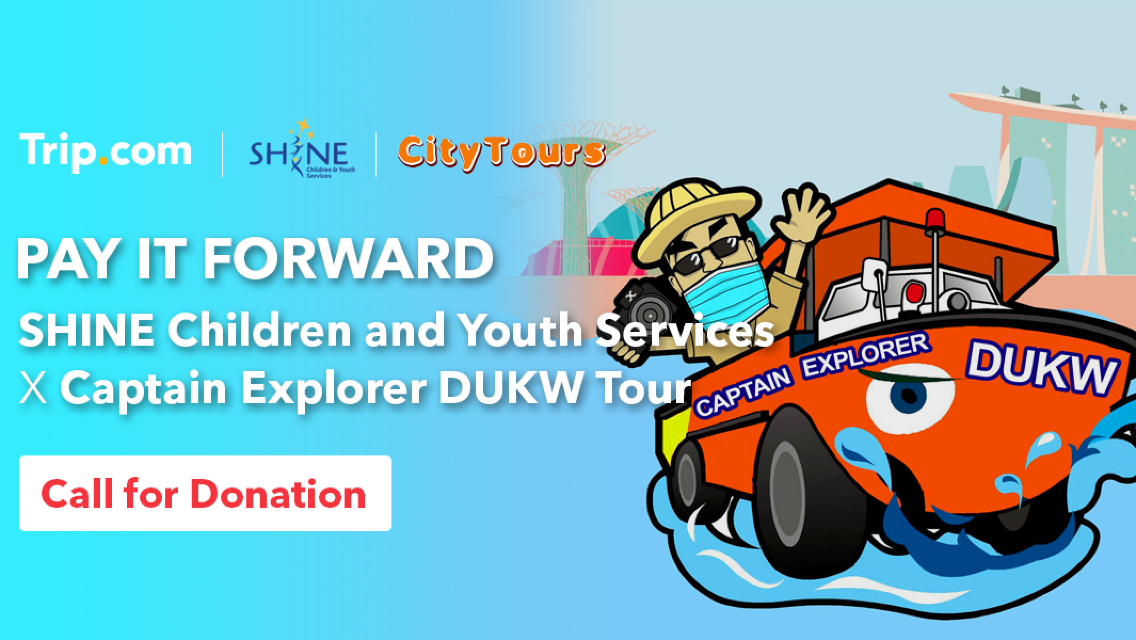 Pay It Forward | SHINE Children and Youth Services x Captain Explorer DUKW Tour