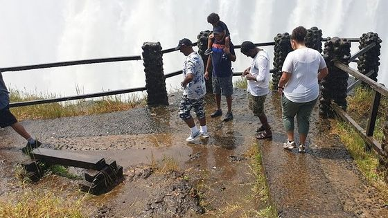 Guided Victoria Falls Tour on Zambia Side