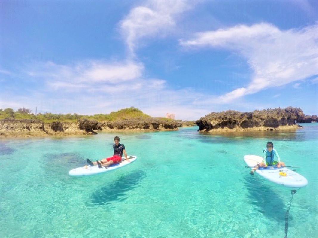 SUPクルージング サンゴ礁・砂地ビーチ・マングローブへ2時間たっぷり海上散歩!<写真無料/宮古島>byグラッツサップ