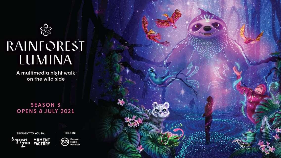 Rainforest Lumina Admission Ticket