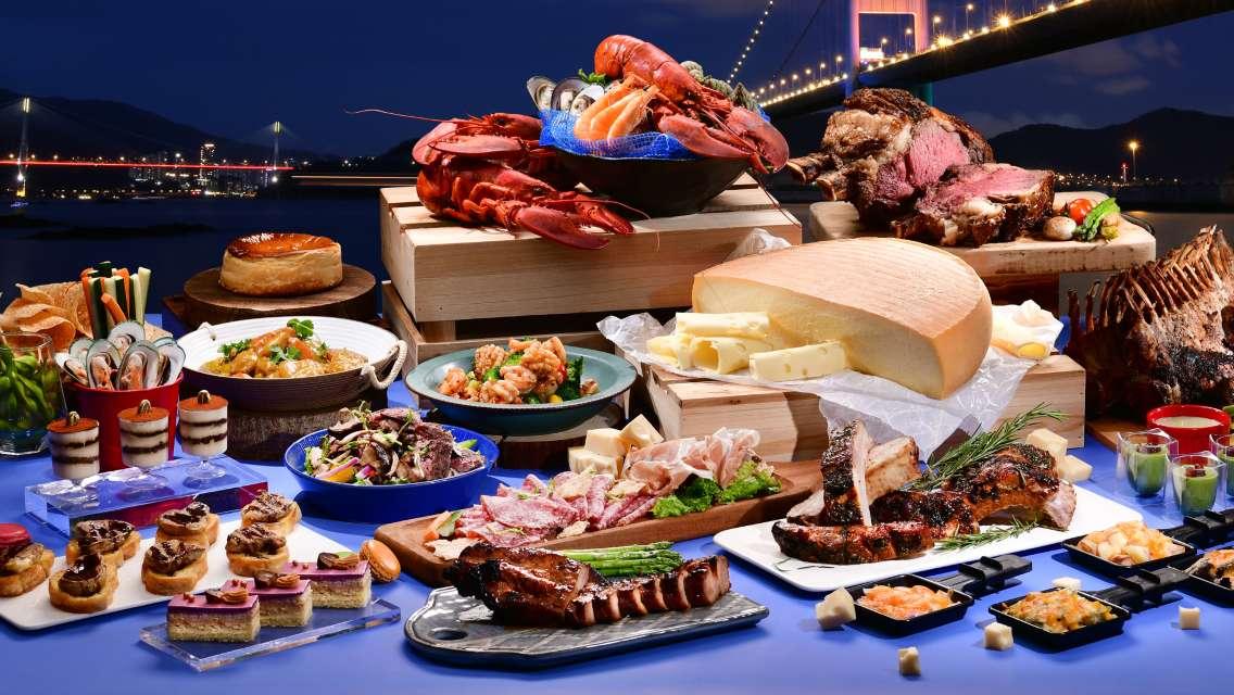 香港挪亞方舟豐盛閣餐廳晚餐(低至8折)