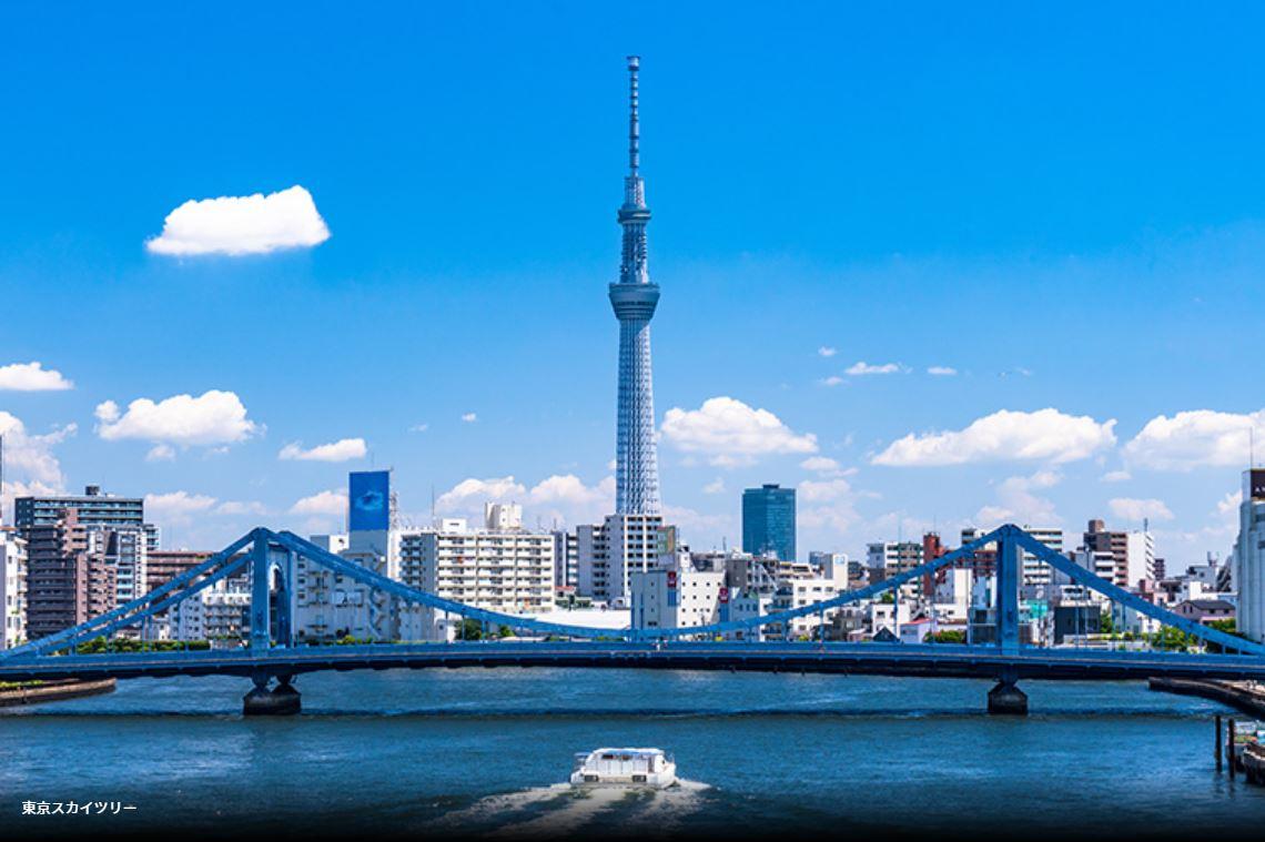【GoTo35%OFF】+【もっとTokyo 】TOKYO新旧下町旅情(東京スカイツリー&浅草散策)