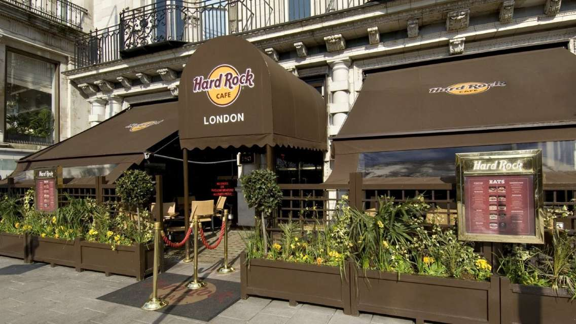 Hard Rock Cafe London: Priority Seating with Menu