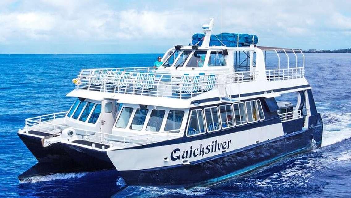 (Maui/Lahaina Harbor) Lana'i Snorkeling & Dolphin Encounter Aboard Quicksilver
