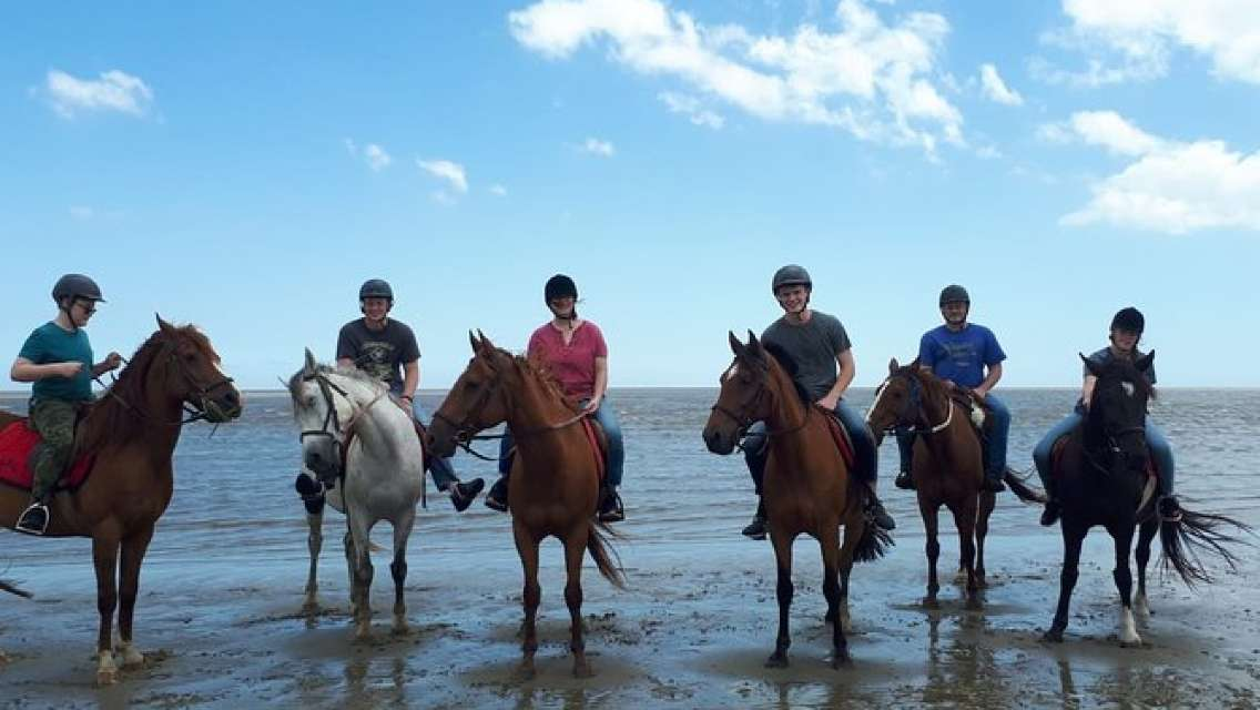 Horseback riding and country lunch - from Montevideo