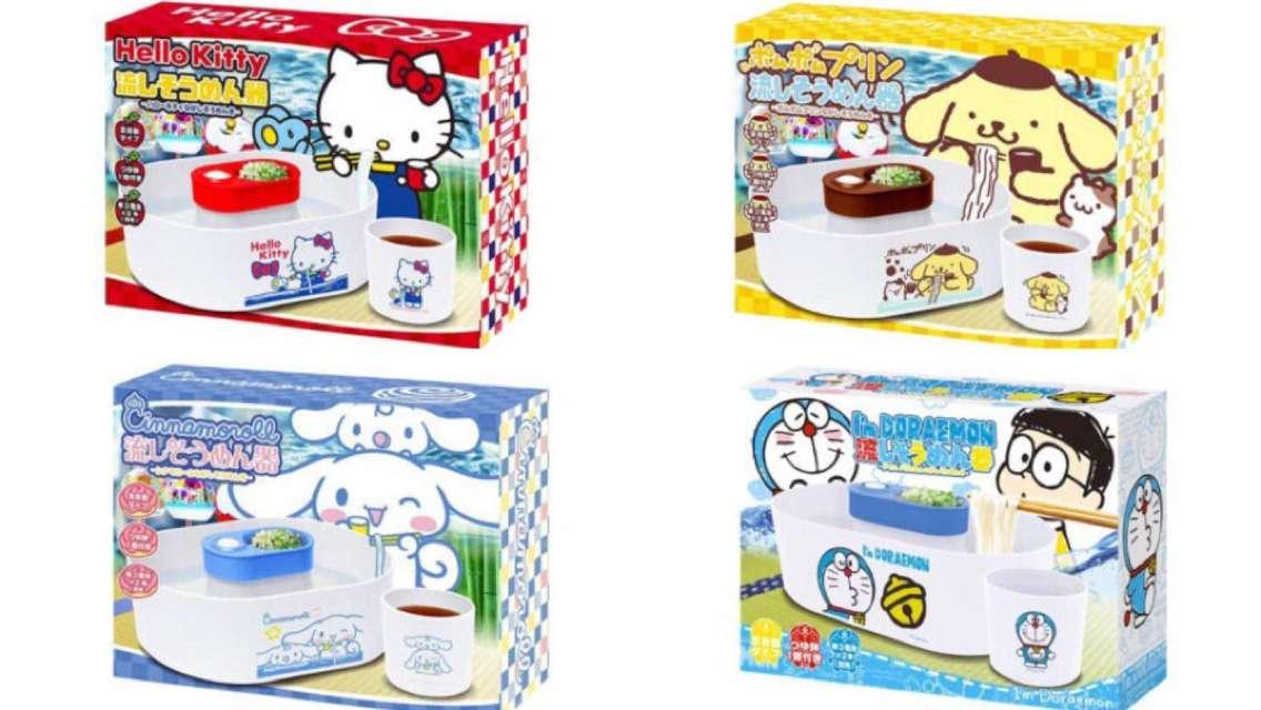 【日本直送,親子家中小玩意】多款卡通款式流水麵機