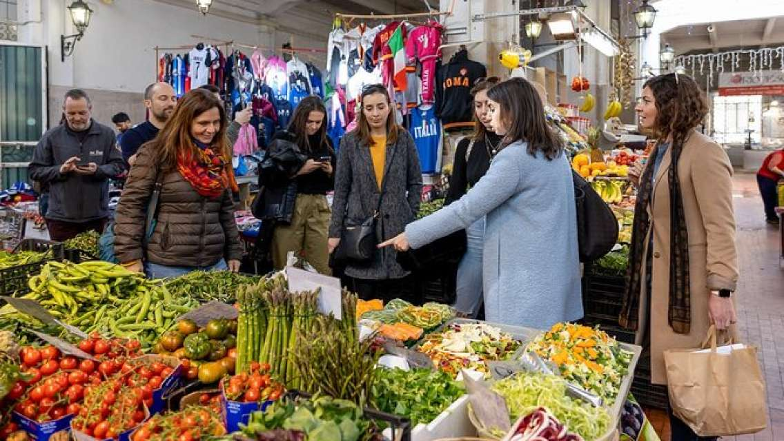Name your recipe: food market tour and workshop with a Cesarina in Ascoli Piceno