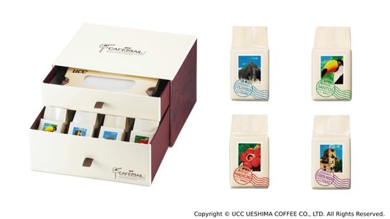 【日本直送】UCC Cafemail 4款咖啡禮品裝