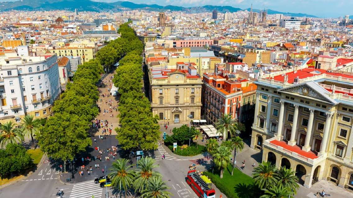 Las Ramblas and Gothic Quarter Private Tour with a Local Guide
