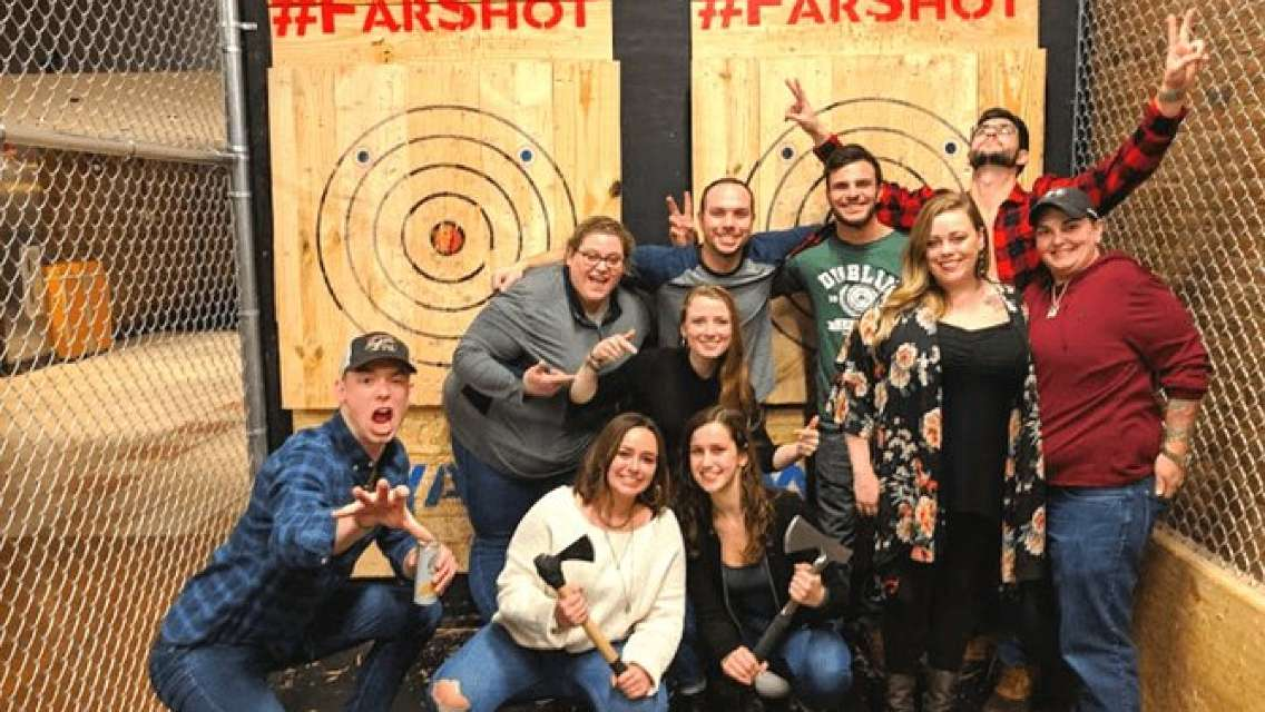Private Axe Throwing for 1 Hour