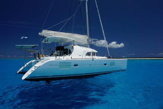 5-Hour VIP Private 38' Catamaran 2-Stop Tour w/ Premium Bar & Personal Chef