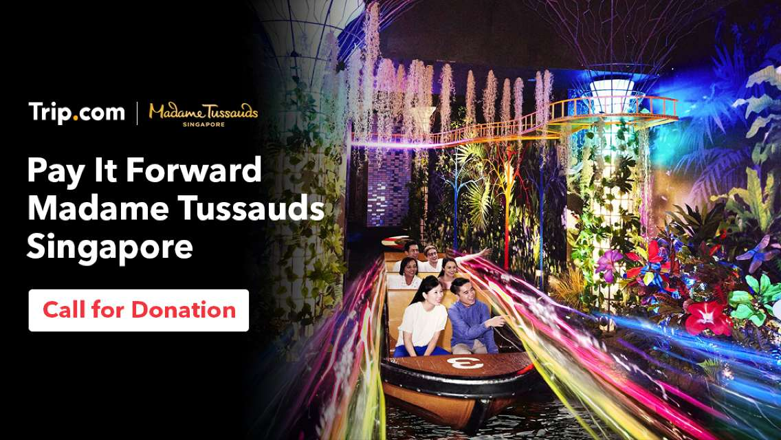 Pay It Forward | Madame Tussauds Singapore