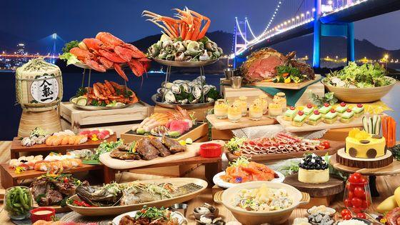 香港挪亞方舟豐盛閣餐廳 - 豐盛晚餐 / 「花膠•龍蝦•海鮮」夏日盛薈自助晚餐(低至8折)