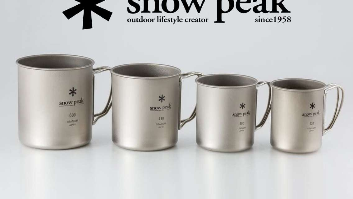 【日本直送 露營必備】Snow Peak Titanium Single Wall Mug 單層鈦杯