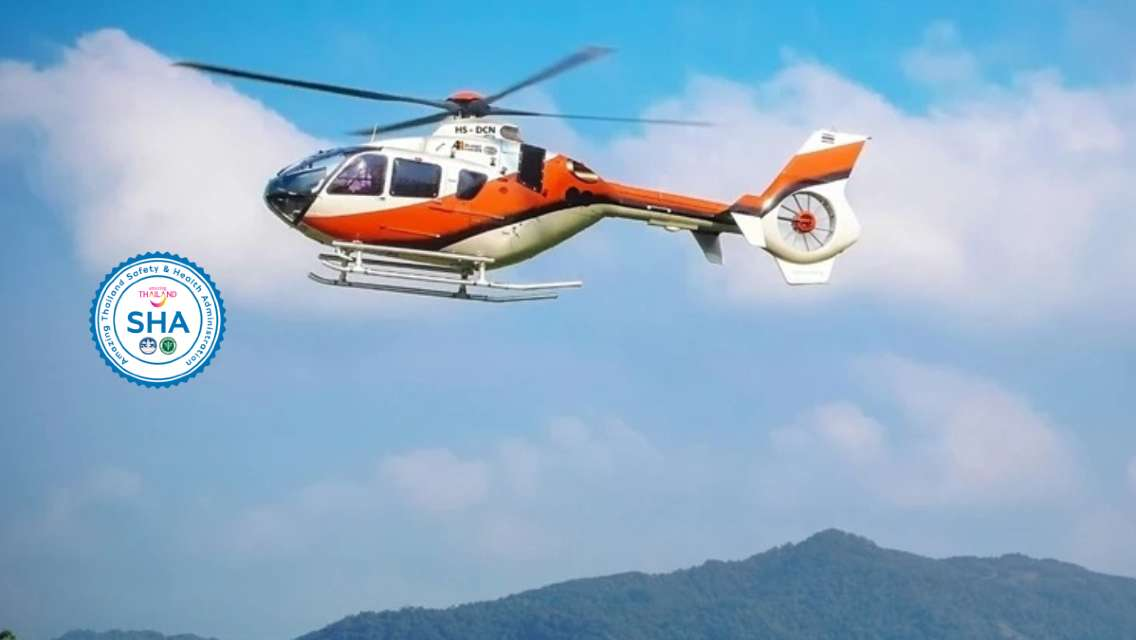 Phuket Helicopter Tours Soar high above spectacular scenery