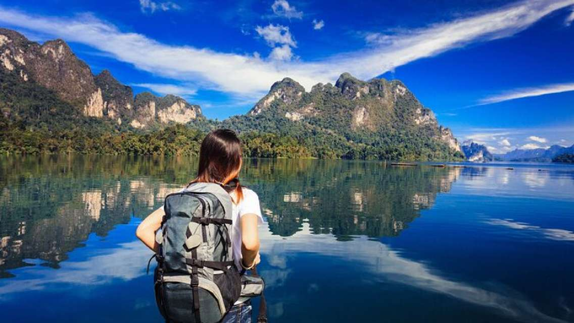 Khao Sok Full Day Tour: Sarasin Bridge, Khao Sok Park Trekking & Rafting, etc.