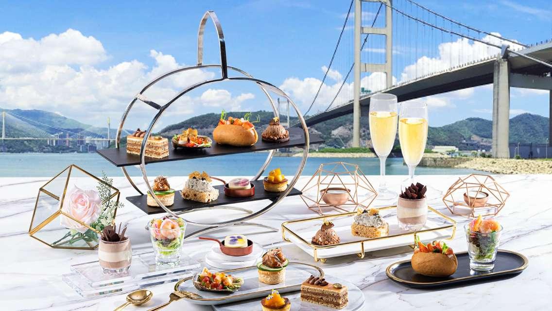 """Noah's Ark Hotel & Resort """"Harvest Restaurant"""" Afternoon Tea Set for 2"""