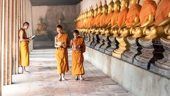 An afternoon with a Buddhist Monk