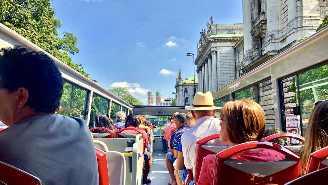 Munich Hop-On Hop-Off Bus Tour 24 Hour and 48 Hour Ticket