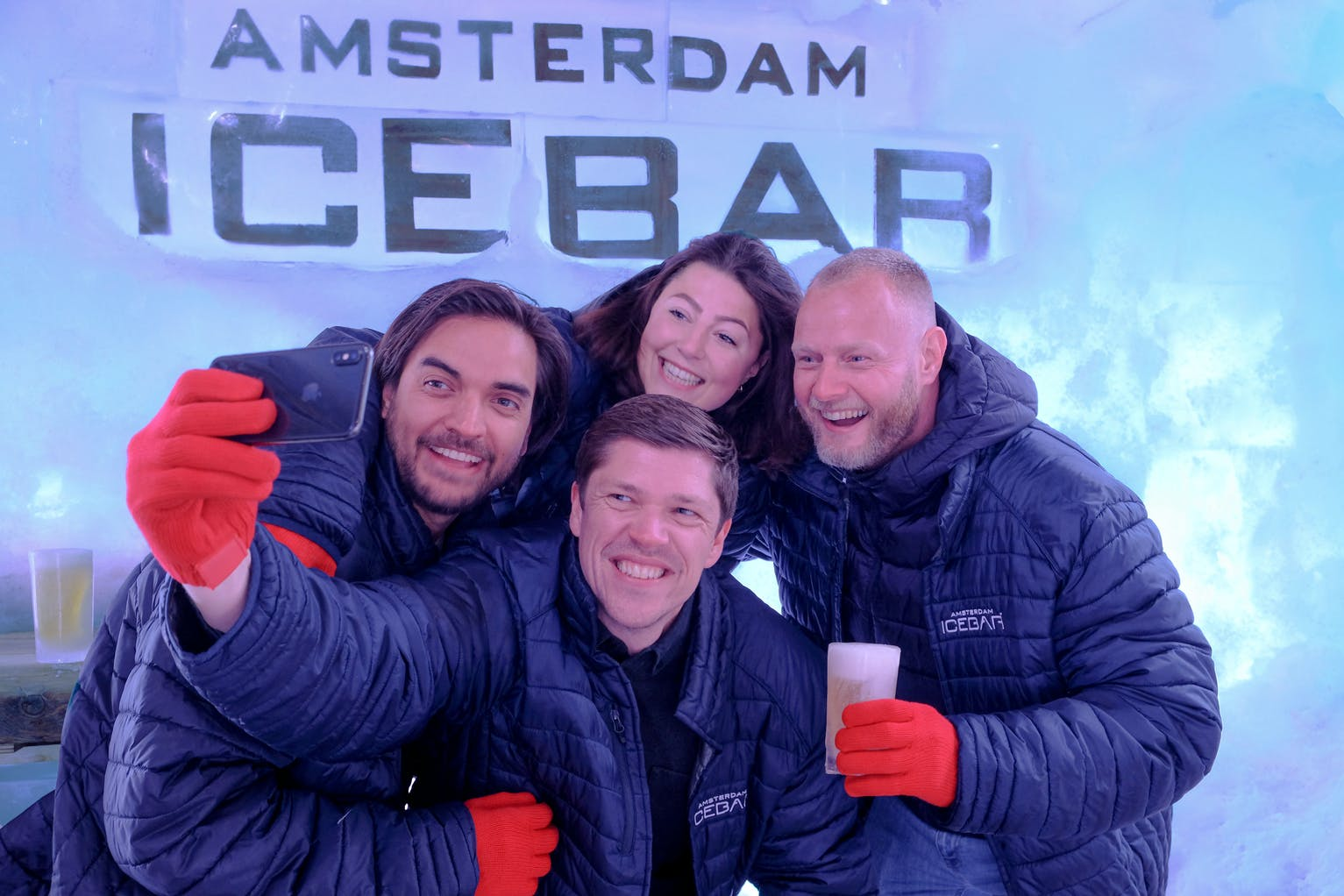 XtraCold Amsterdam Icebar Fast-track Tickets