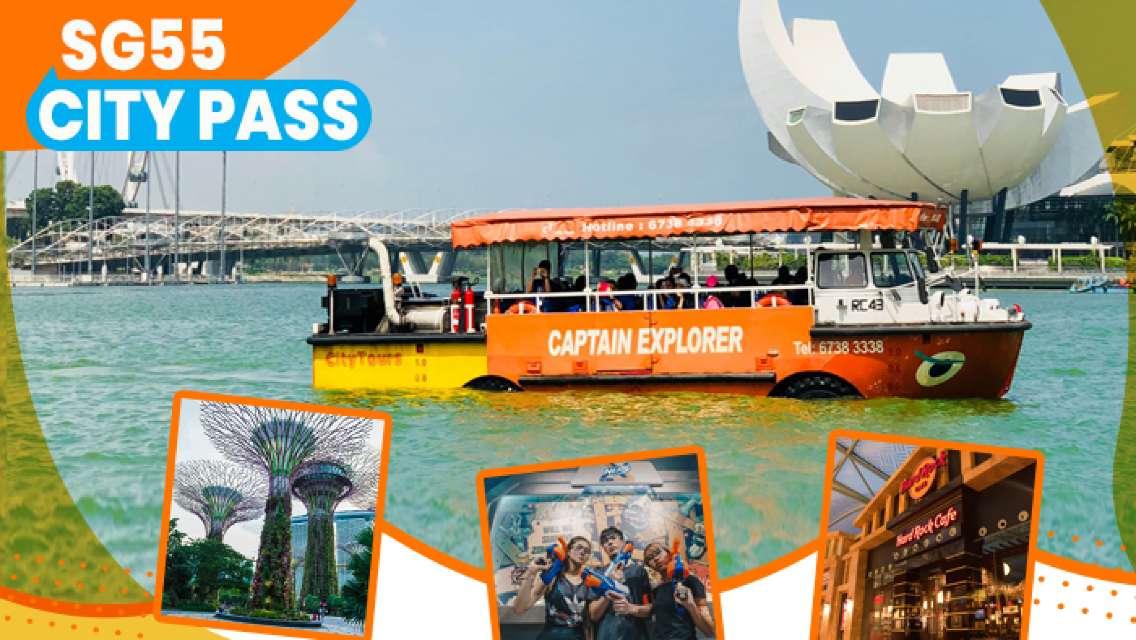 Singapore SG55 City Pass