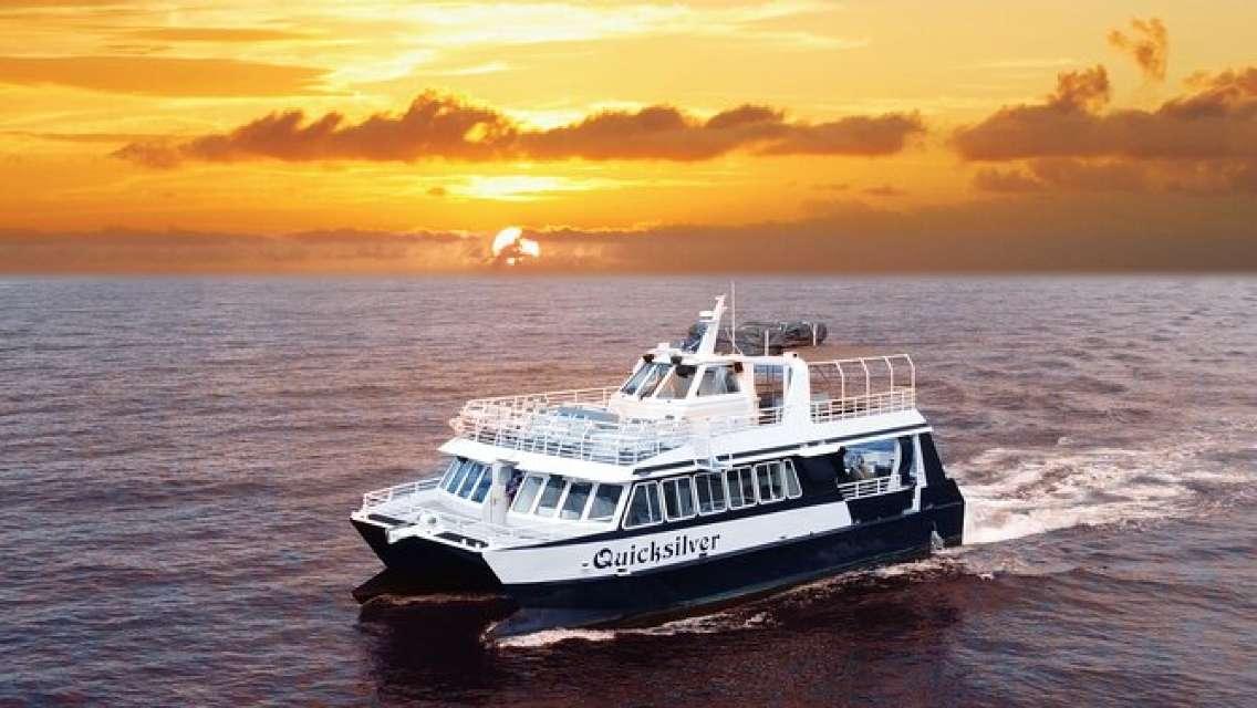 Sunset Dinner Cruise Aboard Quicksilver Serving Prime Rib or Mahi-Mahi (MAUI)