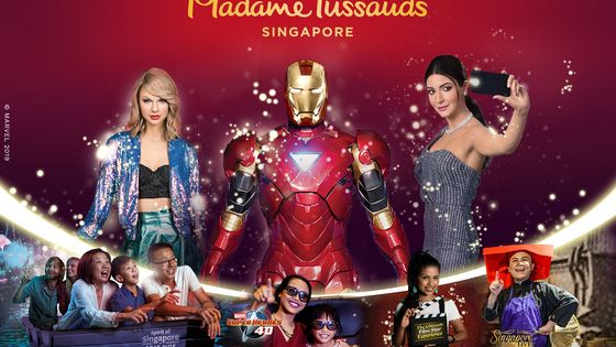 Madame Tussauds Singapore 5-in-1 Ticket (From 2021)