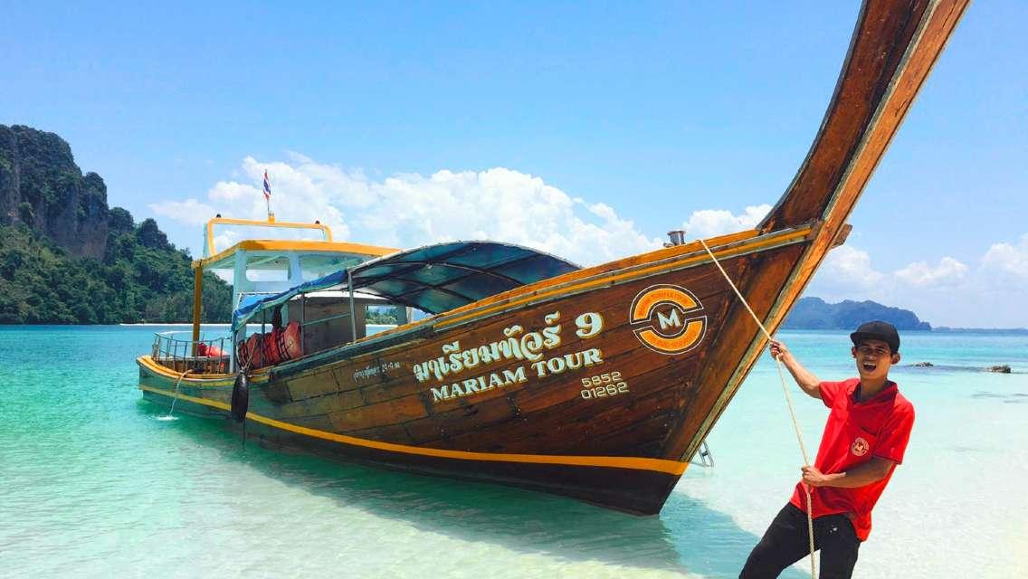One Day Tour 7 Island at Krabi