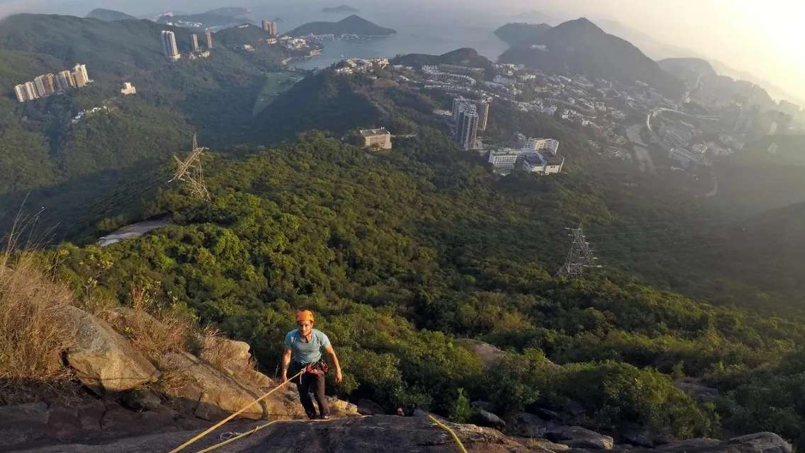 Private Rock Climbing Experience in Black Crag, Hong Kong