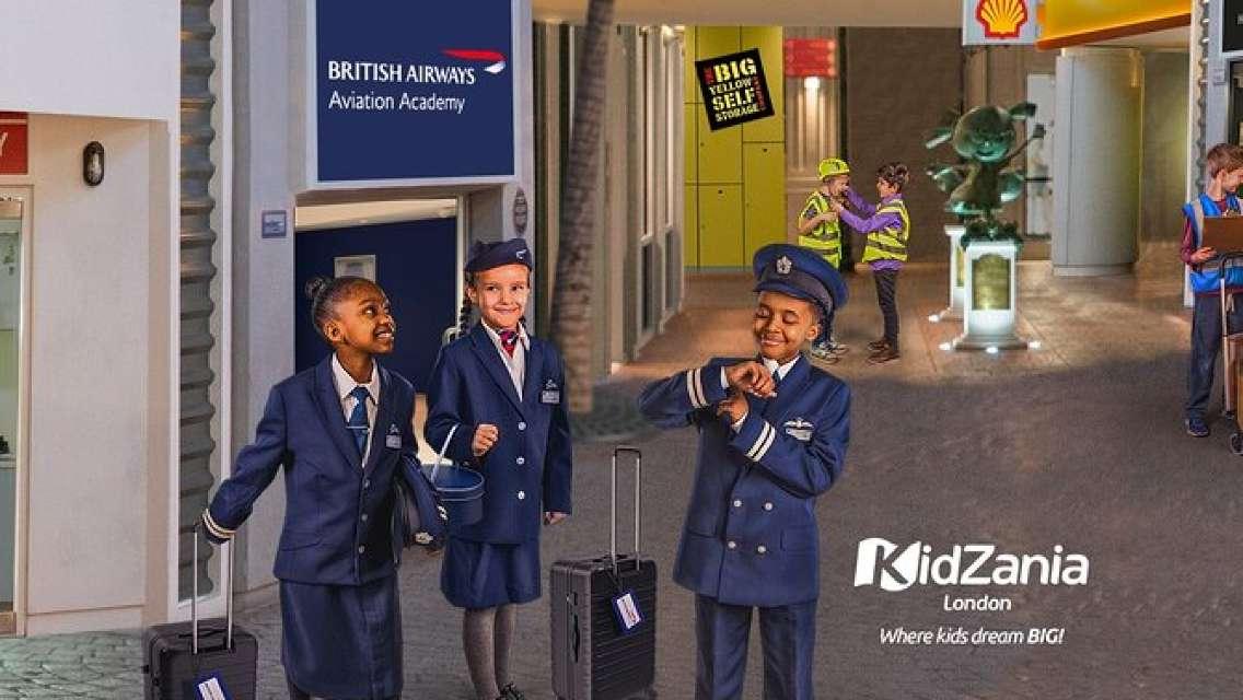 KidZania London Entrance Ticket