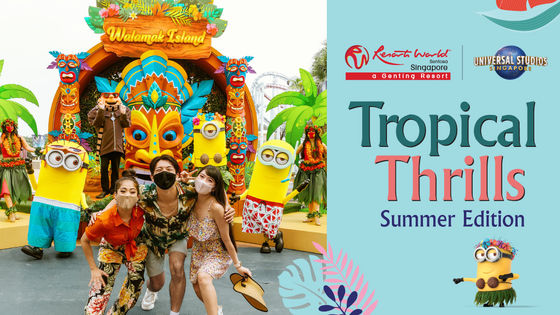 Special Deals | Universal Studios Singapore One-Day Tickets (Early Entry included - Only for Singapore Residents)