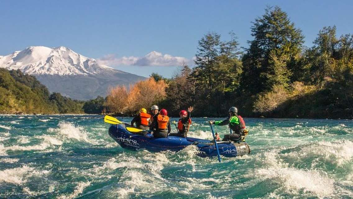 Half-Day Small-Group Rafting Experience in Petrohué River