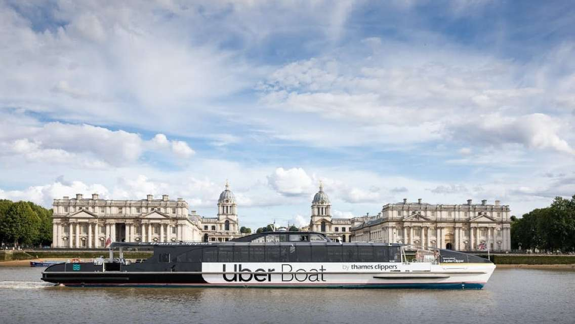 Uber Boat by Thames Clippers - River Roamer Hop-on-hop-off Day-ticket