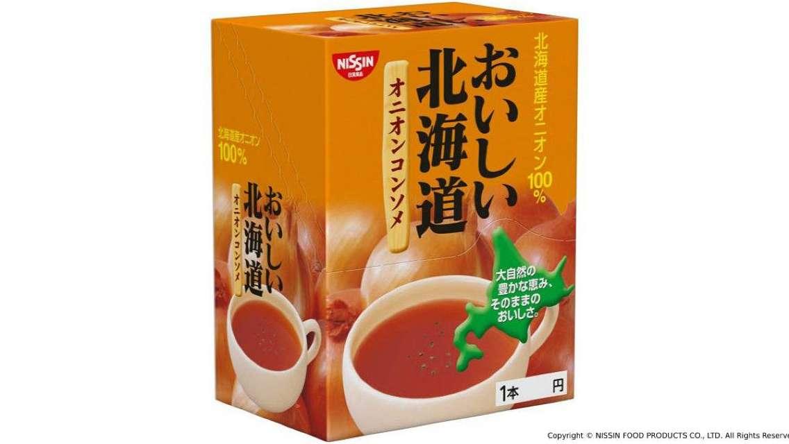 【日本直送 快便快捷美味】日清食品 - 北海道洋蔥清湯 (24包)