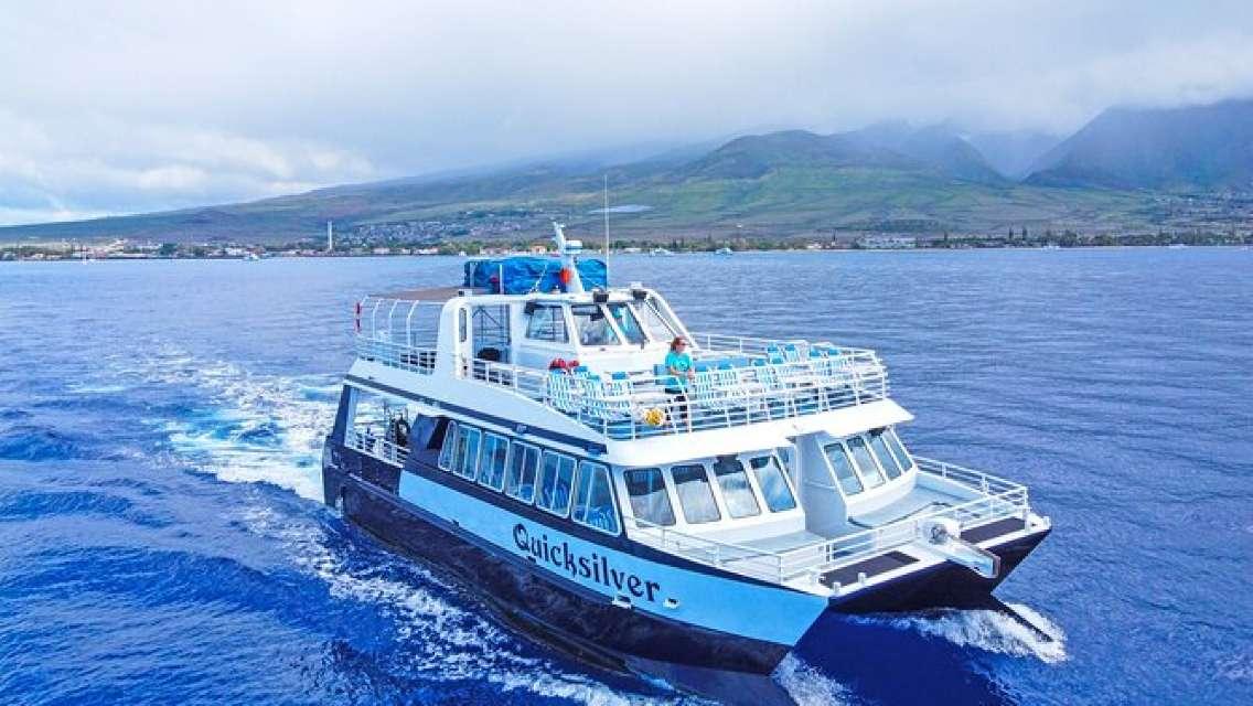 (Maui/Lahaina Harbor) Sunset Dinner Cruise Aboard Quicksilver