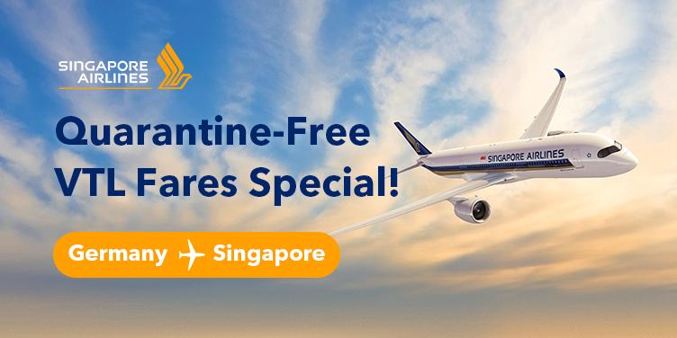 Quarantine-Free VTL Fares Special