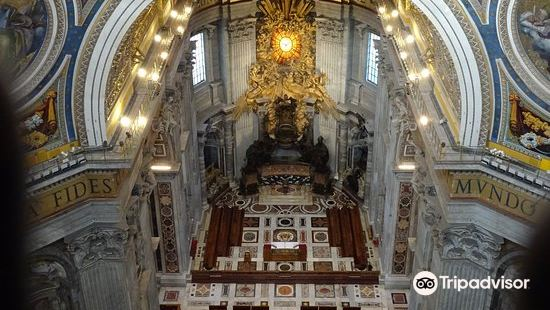 聖彼得大教堂拜見羅馬教皇