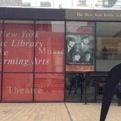 紐約表演藝術公共圖書館用戶圖片