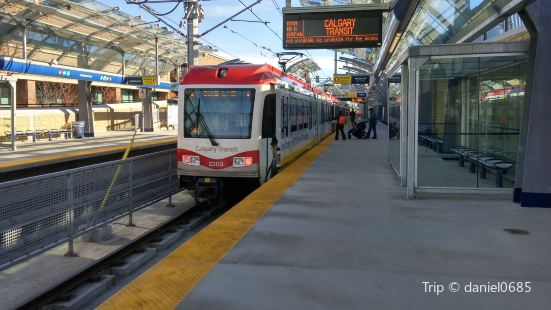 Rundle CTrain Station