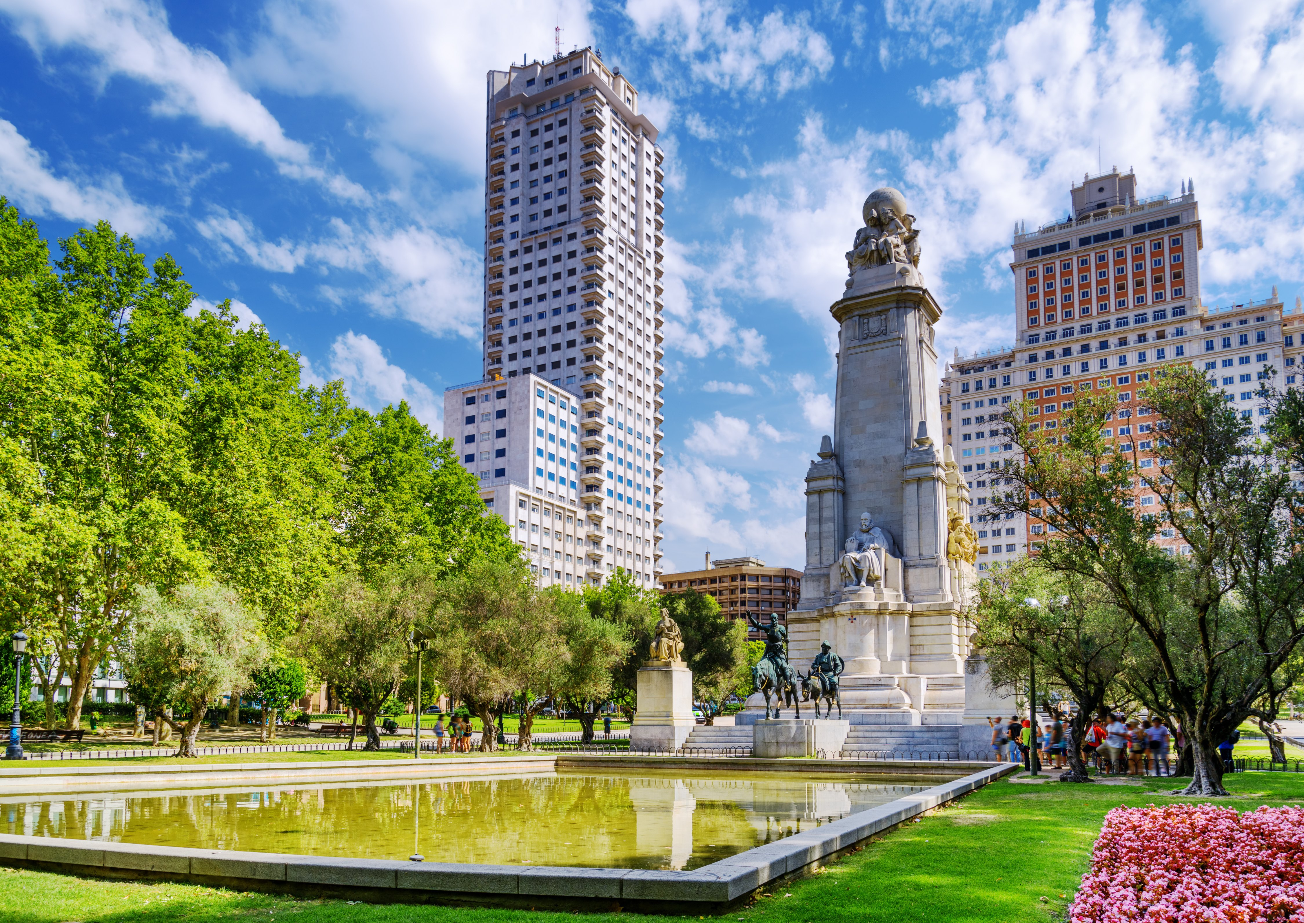 Would You Like to See the Bustling of Madrid? Just Visit those City Squares