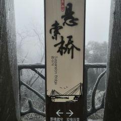 톈먼산 현수교 여행 사진